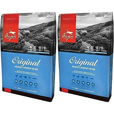 Orijen (2 Pack) Dry Dog Food, Original Formula 4.5 lb ea. Biologically Appropriate Dog Food.