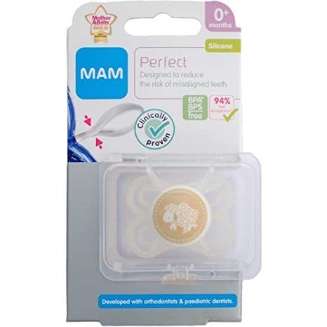 MAM Perfect - 1 x Chupete 0m+ (Oveja): Amazon.es: Bebé