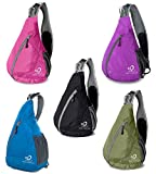 WATERFLY Packable Shoulder Backpack Sling Chest CrossBody...