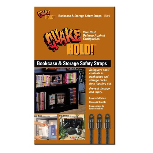 (Quakehold! 5040 Bookcase and Storage Strap)