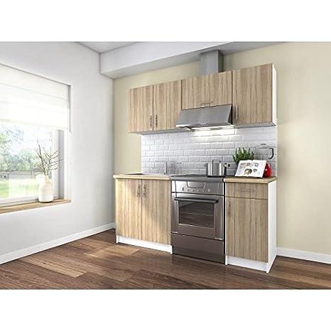 Brico Cucine Componibili.Obi Cucina Completa 180 Cm In Legno Color Oak Sonoma
