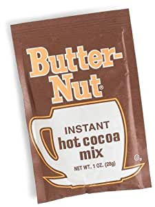 Butter-Nut Instant Hot Cocoa Mix, 1-Ounce Single Serve Packets (Pack of 300)