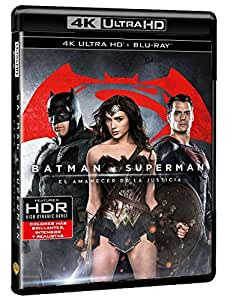 Batman V Superman: El Amanecer De La Justicia  (4K Ultra HD+ Blu-Ray + Copia Digital) [Blu-ray]