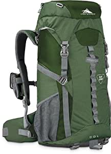 High Sierra Classic Series 59101 Col 35 Internal Frame Pack Amazon, Pine, Charcoal 24.25x13.25x8.25 inches 2135 Cubic Inches 35 Liters