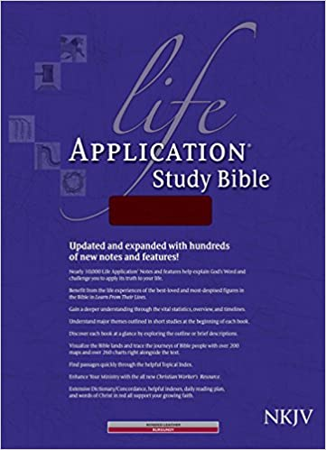 NKJV Life Application Study Bible-Brg Bond: Tyndale House