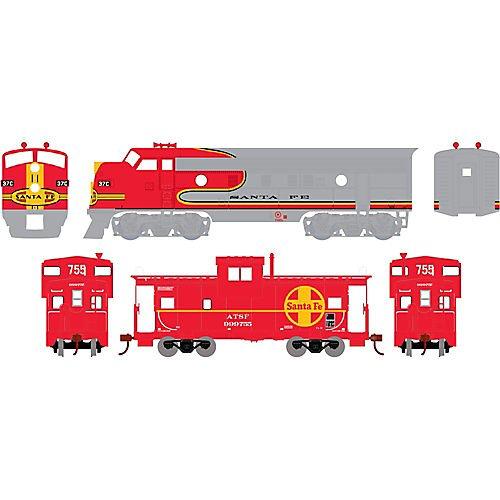 Athearn - HO Warbonnet Train Set, SF