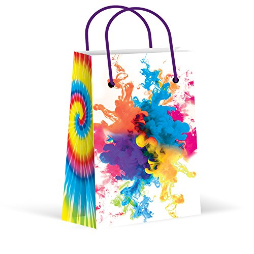 - Premium Tie Dye Party Bags, Camouflage Treat Bags, New, Gift Bags,Goody Bags, Tie Dye Party Favors, Tie Dye Party Supplies, Decorations, 12 Pack