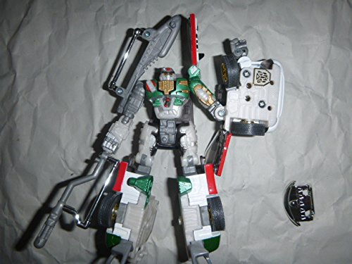 Hasbro Transformers Robots in Disguise Combiners - X-Brawn - Strong-Armed Fighter - Released in Year 2001