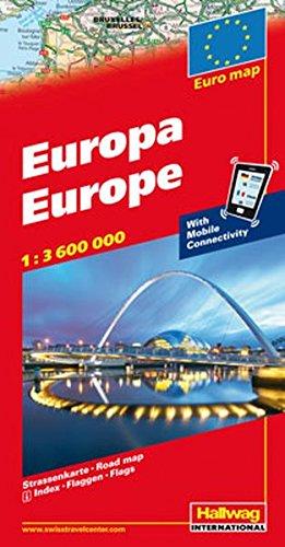 Hallwag Straßenkarten, Europa (Hallwag Strassenkarten)
