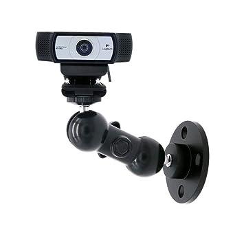 Webcam - Soporte de pared para montaje en techo para Logitech Webcam Brio 4K, C925e