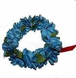 The Blue Hawaii Elastic Headband