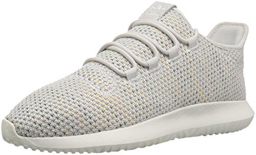 Sports Shadow (adidas Originals Men's Tubular Shadow Ck Fashion Sneakers Running Shoe, Grey/Cloud White/raw Green, 9 M US)