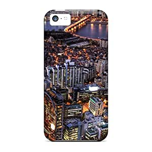 MldieromNew Seoul At Night South Korea Skin Case Cover Shatterproof Case For Iphone 5c