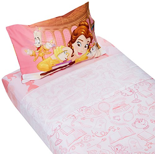 Bed Linens Bella (Beauty and the Beast Microfiber Twin Sheet Set Belle)
