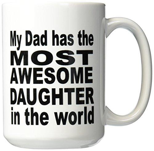 3dRose mug 161148 2 Daughter Fatherhood 15 Ounce