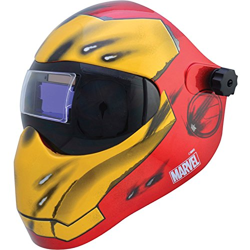 Save Phace – Careta 3012503 I Series Iron Man Casco de soldadura de Oscurecimiento Automático