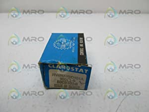 Clarostat RV4NAYSD101A Potentiometer, Solder Lug, 6.35 mm Shaft Diameter, Panel Mount, 10% Tolerance, 2 Watt, 100 Ohm, 36.12 mm H x 36.52 mm L