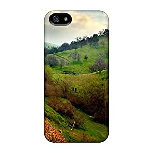 Iphone 5/5s Hard Back With Bumper Cases Covers Landscape