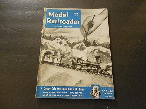 Model Railroader Mar 1951 Trees, Shrubs; Chitlin Valley; Modern Station