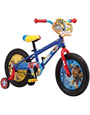 Nickelodeon Paw Patrol Kids Bike, 12-16-Inch Wheels, Toddlers to Kids ages 3 Years and Up, Training Wheel Options, Steel Frame, Multiple Colors