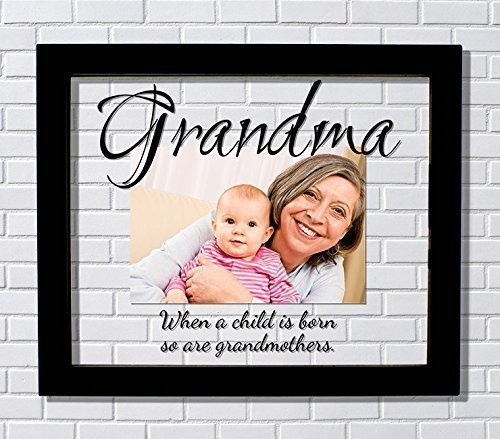Amazon.com: Grandma Frame - Floating Frame - When a child is born so ...