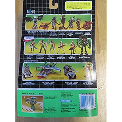 Aliens Kenner Vintage 1992 Action Figure Mantis Alien Bone Crushing Arm Action: Toys & Games