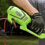 GreenWorks 21142 10Amp 18 Inch Straight Shaft Electric String Trimmer / Edger
