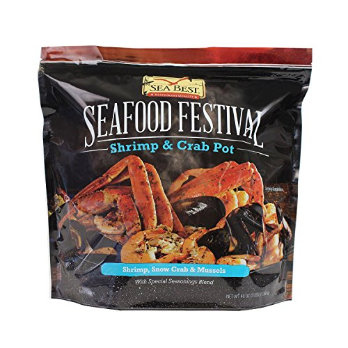 Snow Crab (Sea Best Seafood Festival Shrimp and Crab Pot, 3 Pound)