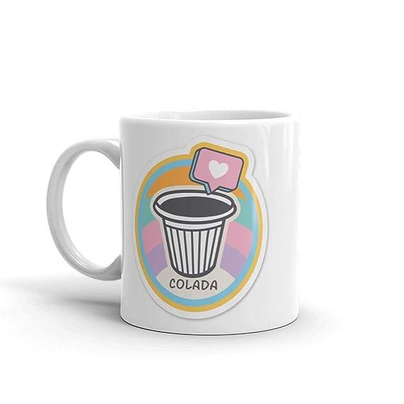 Amazon.com: Taza de té con texto en inglés