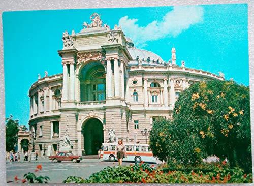 1979 Odessa. Opera and Ballet Theatre. Vintage USSR Soviet Union Russian Postcard