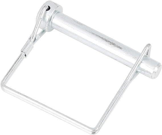 X AUTOHAUX 10pcs 2.36 Length 0.24 Diameter Square Shape Trailer Shaft Locking Coupler Pin for Car Boat