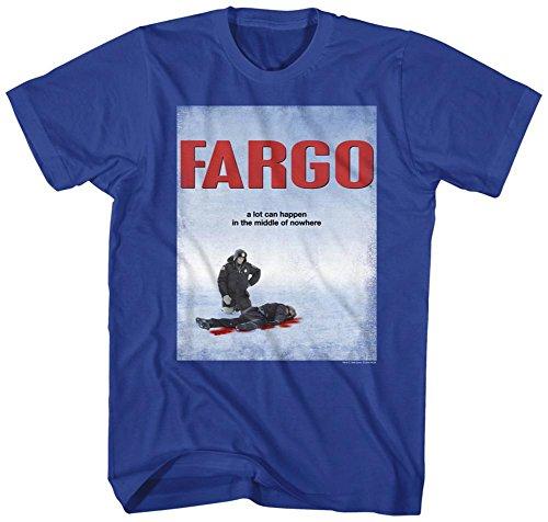 Fargo- Poster T-Shirt - Blue