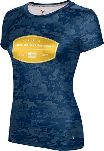 ProSphere Women's Idaho Falls Police Department Digital Shirt - Falls Idaho In Shopping