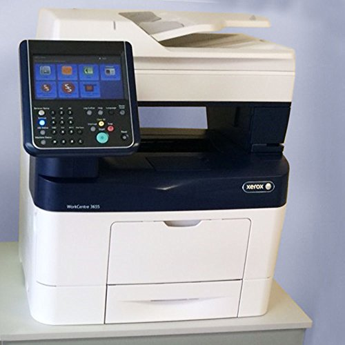 Xerox WorkCentre 3655X Black and White Laser Printer Copier Scanner Fax 47PPM, A4 - Refurbished