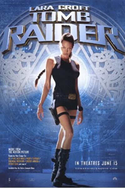 Pop Culture Graphics Lara Croft Tomb Raider Poster Movie 11x17 Angelina Jolie Iain Glen Daniel Craig Leslie Phillips Prints Posters Prints