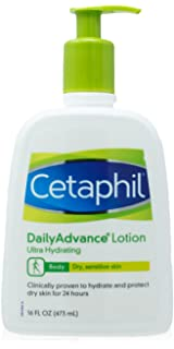 Cetaphil Daily Advance Lotion, Ultra Hydrating, 16 Ounce