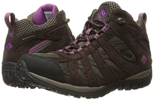 Columbia Mid Redmond Brown Women's Waterproof Outdoor Shoes Multisport PPZq87w
