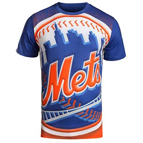FOCO MLB New York Mets Big Logo TEE Extra Large