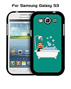 Galaxy S3 Funda Case Brand Logo Paul , Frank Solid Anti Slip Customized Impact Resistant Ultra Slim Compatible with Samsung Galaxy S3 i9300