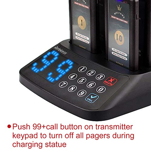 Retekess T115 Wireless Calling System Restaurant Paging