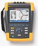 Fluke 437-II/BASIC 3 Phase Power Quality and Energy Analyzer, +/- 0.5% Accuracy, 0.1V Resolution, 400Hz Frequency