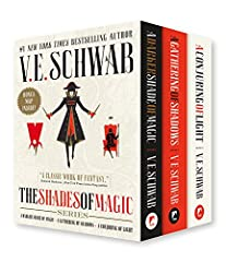 Experience the fate of beloved heroes and notorious foes in V. E. Schwab's New York Times bestselling Shades of Magic trilogy together in a boxset with additional content.                       Bonus pull-out map included!    ...