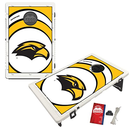 - Victory Tailgate Southern Mississippi Golden Eagles USM Baggo Bean Bag Toss Cornhole Game Vortex Design