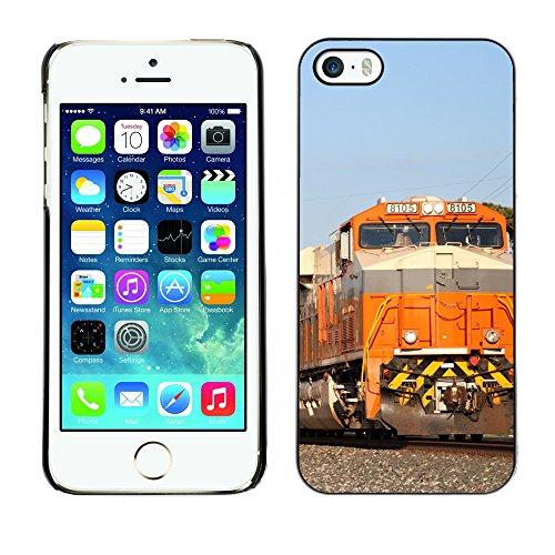 Premio Sottile Slim Cassa Custodia Case Cover Shell // F00017318 Chemin de fer // Apple iPhone 5 5S 5G
