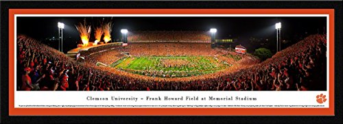 Clemson Football - Celebration - Blakeway Panoramas College Sports Posters with Select Frame