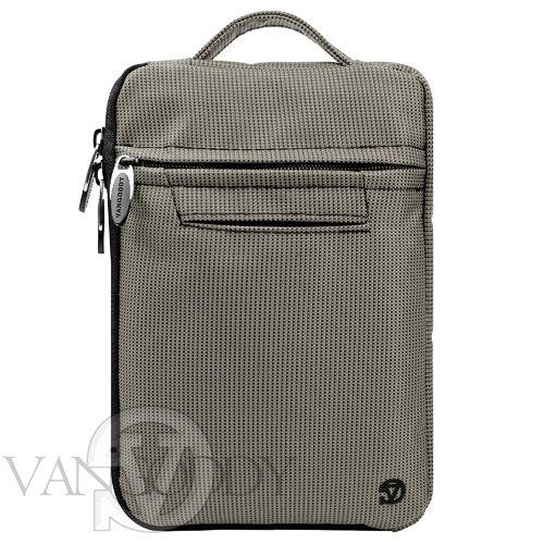 Vangoddy Gray Social Media Lightweight Travel Case for HP...