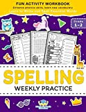 Spelling Weekly Practice for 1st 2nd Grade: Learn
