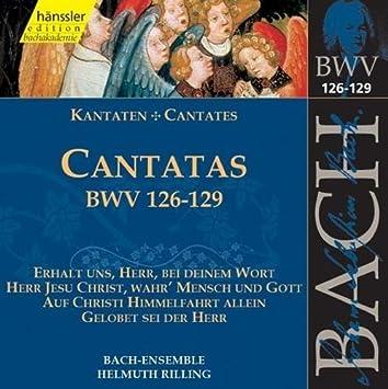 Bach Cantatas BVW 126-129 (2000-06-27)