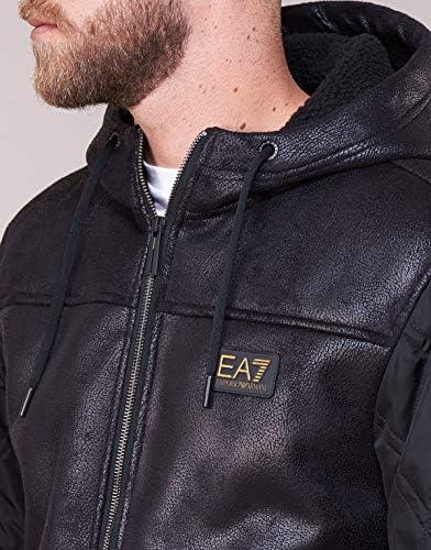 EA7 EA Giubbino Uomo Ecomontone Nero  2QDky