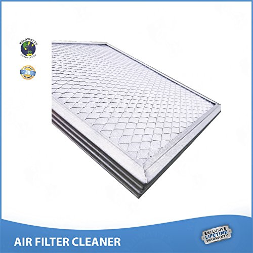 18x30x1 Lifetime Air Filter Electrostatic A/C Furnace Air Filter Silver 94% Arrestance.. Never Buy a New Filter by Kilowatts Energy Center (Image #3)